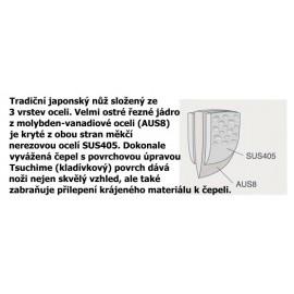 Hokiyama - Sakon + nůž Petty 135 mm Vee-tech