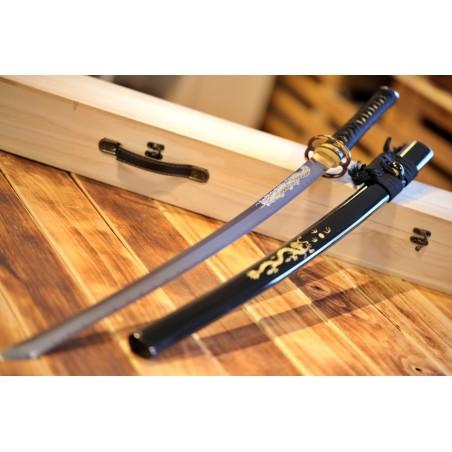 Doragon Japanese Sword Yokote T-10 Steel
