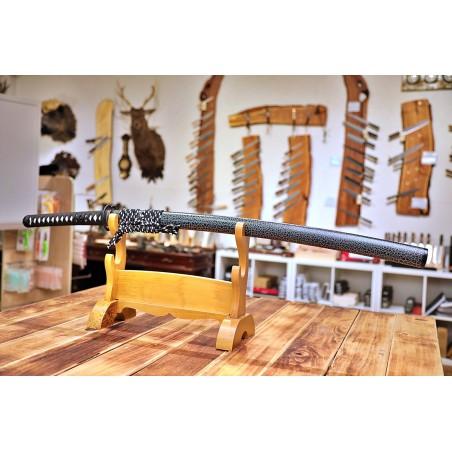 Shikata Japanese Sword - T-10 Steel, Hamon Midare- Gunome