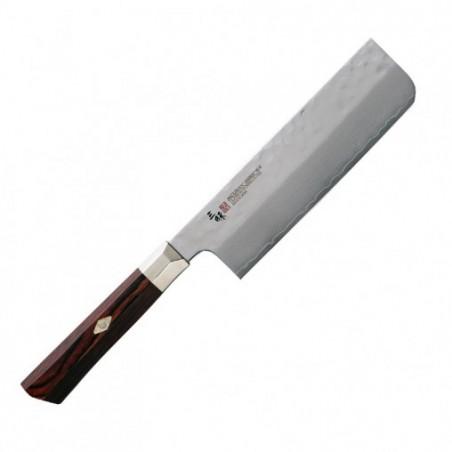 nůž na zeleninu Nakiri 16,5cm MCUSTA ZANMAI Supreme Hammered