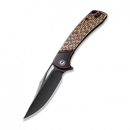 zavírací nůž CIVIVI Dogma C2005F Flipper, měděná rukojeť