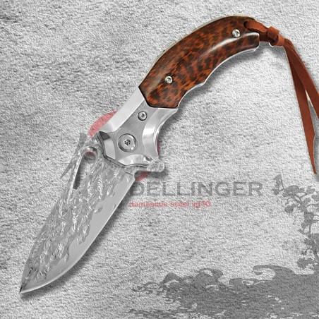nůž zavírací Dellinger SENSUIKAN VG-10 Damascus
