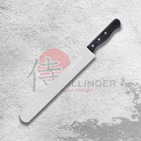 Cukrářský nůž na prokrajování korpusů dortů - hladký 300 mm
