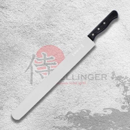 Cukrářský nůž na prokrajování korpusů dortů - hladký 350 mm