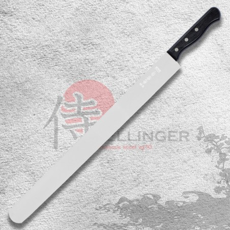 Cukrářský nůž na prokrajování korpusů dortů - hladký 450 mm