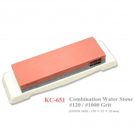 120/1000 kombinovaný brusný kámen, Kanetsune KC-651