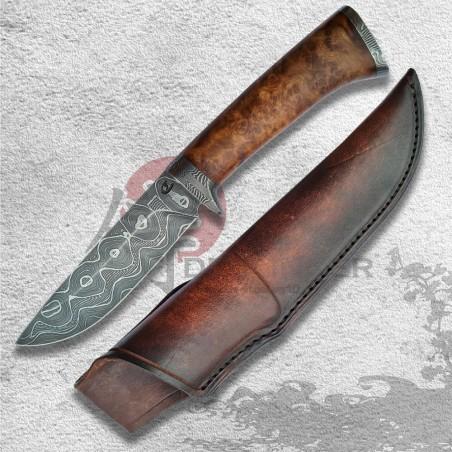 lovecký nůž PERLER Damascus
