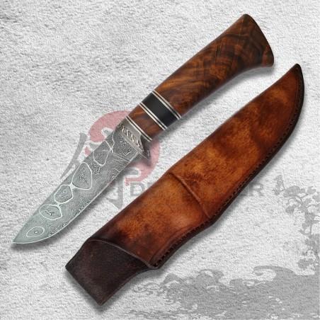 lovecký nůž SKYER Damascus