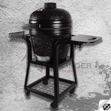 """keramický gril kamado Dellinger Smoke&Fire 22"""" černý"""