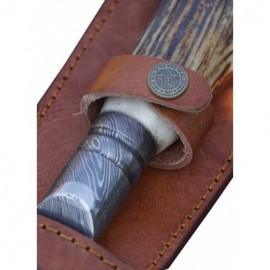 sada 3 nožů Dellinger Mirror SS 3-layers v dřevěné dárkové krabici