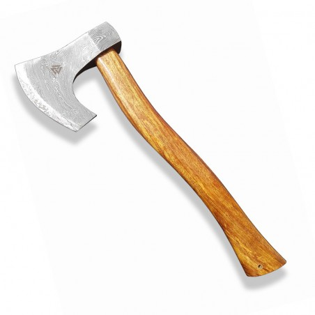 """Axe """"Dellinger Valhalla"""" made of Damascus steel"""