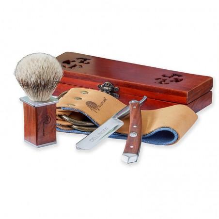 Dellinger Mahagony Shaving Set