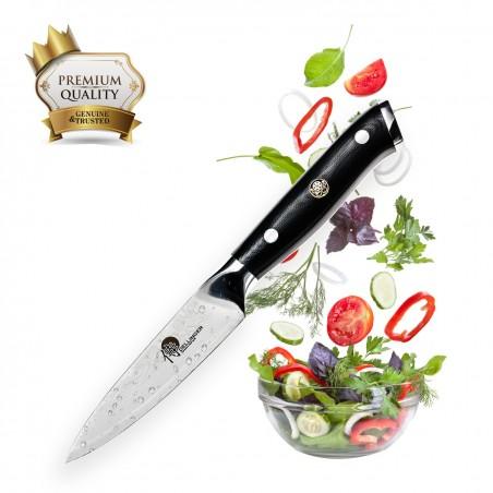"""nůž Paring 3,5"""" (100mm) Dellinger Samurai Professional Damascus"""