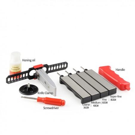 brusný systém TAIDEA outdoor (kufřík) - nůžky, nože, háčky na ryby