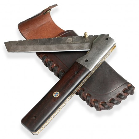 lovecký zavírací damaškový nůž Dellinger TANTO LENGE