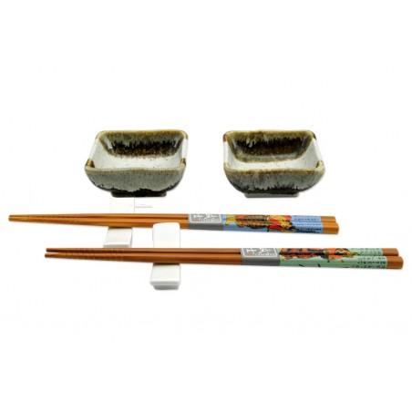 porcelánový servis na SUSHI - Karatsu Mini