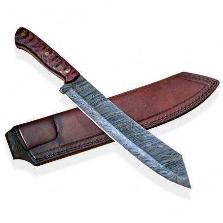 mačeta Dellinger Damascus Schatten